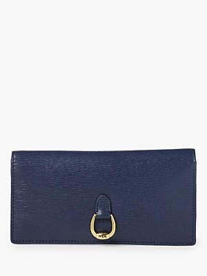 Ralph Lauren Ralph Bennington Leather Bi-Fold Wallet, Navy