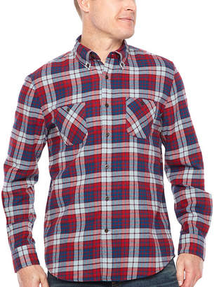 M·A·C Big Mac Long Sleeve Flannel Shirt