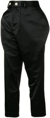 Vivienne Westwood Alcoholic asymmetric trousers