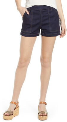 Tinsel Side Button Shorts