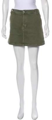 Rebecca Minkoff Denim Mini Skirt