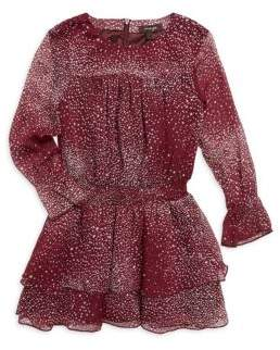 Imoga Girl's Leslie Chiffon Fit-&-Flare Dress