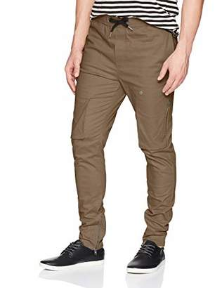 Zanerobe Men's Cotton/Elastane Modern Cargo Blockshot Chino
