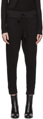 Ann Demeulemeester Black Bastian Lounge Pants