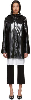 Stutterheim Black High-Gloss Stockholm Raincoat