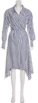 Isabel Marant Striped Wrap Dress