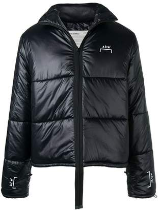 A-Cold-Wall* padded hanging zipper jacket