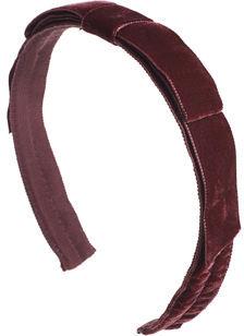 Jennifer Ouellette Narrow Velvet Headband