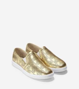 Cole Haan Women's Grand Crosscourt Slip On Sneaker