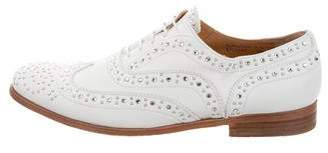 Church's Leather Stud-Embellished Oxfords