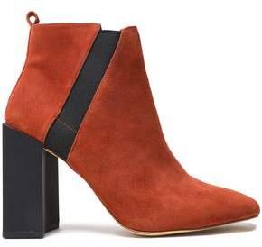 Halston Peregrun Leather Ankle Boots