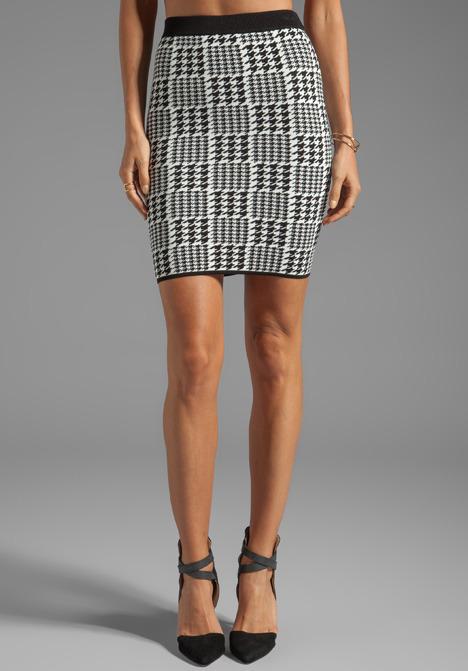 Torn By Ronny Kobo Celine Scottish Plaid Skirt