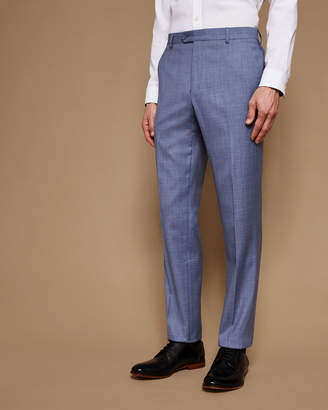 Ted Baker STRONGT Slim fit plain wool pants
