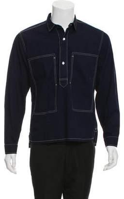 Burberry 2018 Denim Popover Shirt