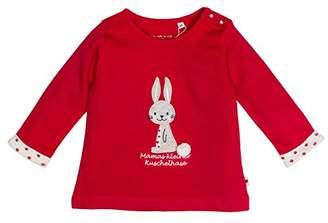 Salt&Pepper Salt and Pepper Baby Girls' NB Schatz Uni Longsleeve T-Shirt