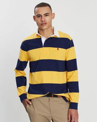 Polo Ralph Lauren LS Ultra-Knit Cotton Jersey Rugby Shirt