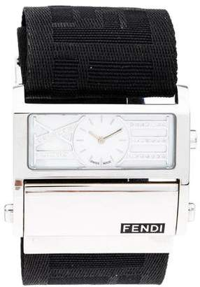 Fendi Zip Code Watch