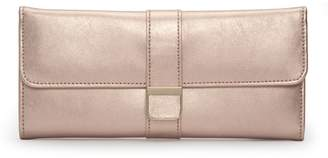 Wolf The Alkemistry Rose Gold Leather Jewellery Roll