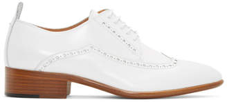 Maison Margiela White Leather Brogues