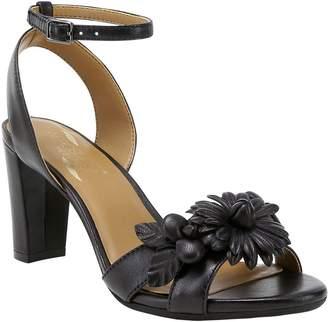 Aerosoles Heel Rest Leather Sandals - Hit TheRoad