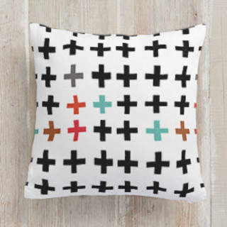Always Positive Square Pillow