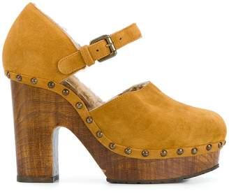 L'Autre Chose Zoccolo Crosta heels
