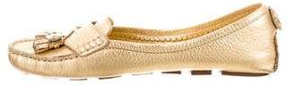 Tory Burch Leather Driving Loafers
