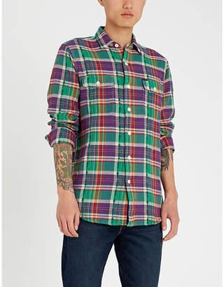 Polo Ralph Lauren Checked regular-fit cotton-flannel shirt