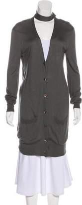 Jean Paul Gaultier Long Sleeve Button-Up Cardigan