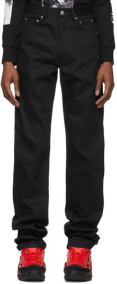 Takahiromiyashita Thesoloist. TAKAHIROMIYASHITA TheSoloist. Black X Pocket Jeans