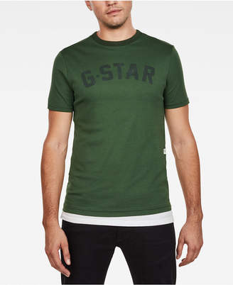 G Star Mens Graphic Logo T-Shirt