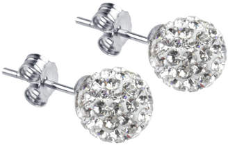 4335e3a7bd2b2 Silver Diamante Drop Earrings - ShopStyle UK