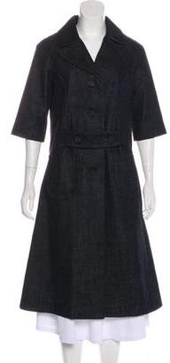 Co Denim A-Line Coat