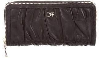 Diane von Furstenberg Anna Ruched Wallet
