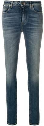 Saint Laurent light-wash skinny jeans