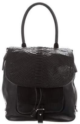 Barbara Bui Python & Leather Bag