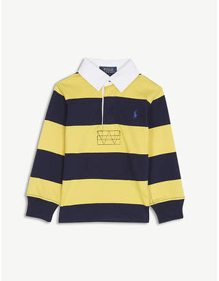Ralph Lauren Striped cotton rugby top 2-7 years