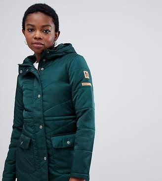 Noisy May Petite hooded padded jacket