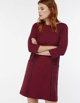 Harriet Heart Jacquard Dress