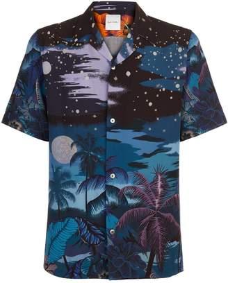 Paul Smith Night-Time Print Shirt