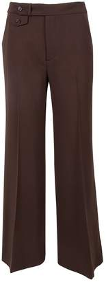 Ralph Lauren Brown Wool Trousers