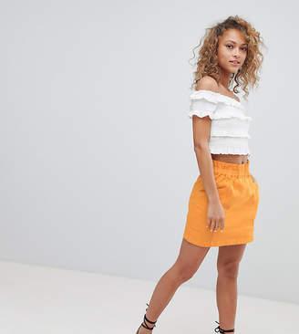 Miss Selfridge Paperbag Waist Skirt