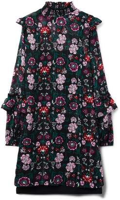Crazy 8 Crazy8 Love, Fire Layered Floral Ruffle Dress