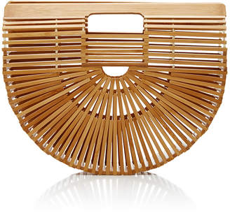 Cult Gaia Small Bamboo Ark Bag $150 thestylecure.com