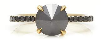 Black Diamond Ara Vartanian 18K Gold And Ring