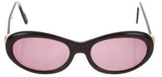 Cartier 18K Round Sunglasses
