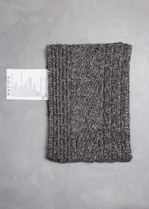 MM6 MAISON MARGIELA Cable Knit Scarf