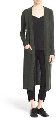 autumn cashmere Long Cashmere Cardigan $363 thestylecure.com