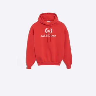Balenciaga BB printed hooded sweater