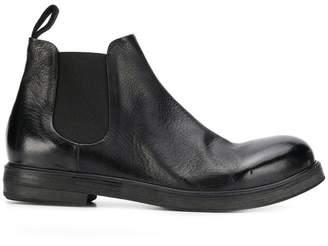 Marsèll pebbled chelsea boots